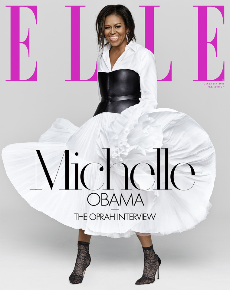 Michelle Obama Elle magazine