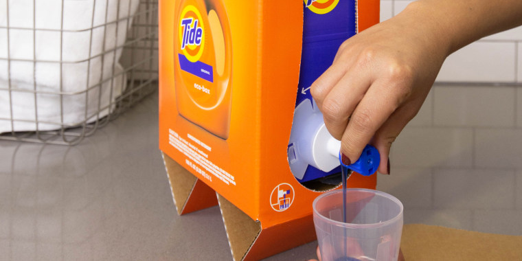 People are saying Tide's Eco-Box looks a lot like boxed wine.