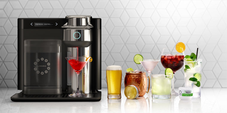 The Keurig cocktail machine will soon be available in more states