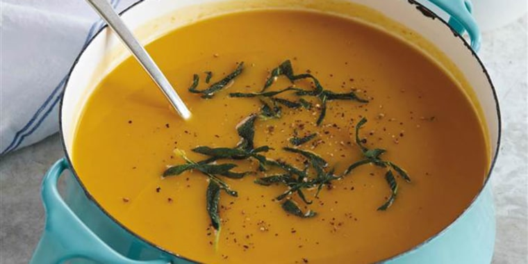 A steaming bowl of butternut squash soup might be the ultimate comfort food.