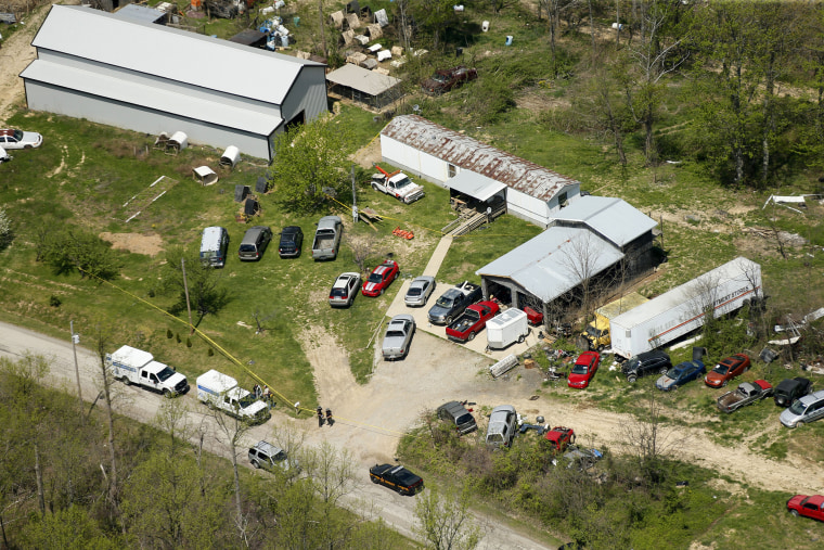 Image: One of the locations being investigated in Pike County, Ohio