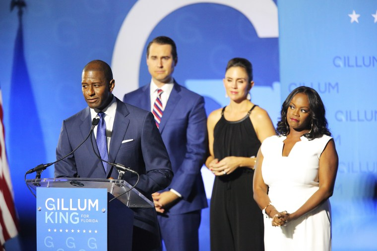 Image: Andrew Gillum concedes defeat in the race for the Governorship of Florida