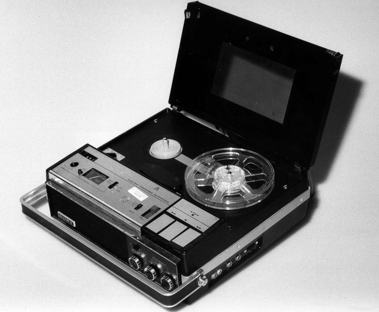The original Nixon White House tape recorder