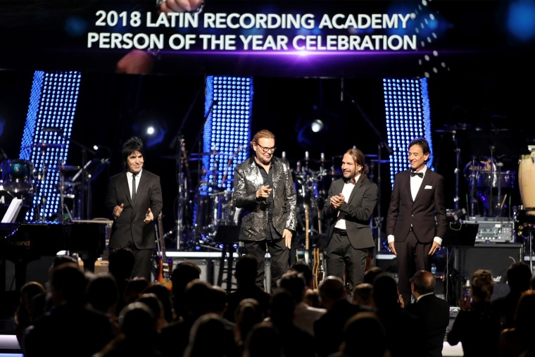 Image: The Latin Recording Academy's 2018 Person Of The Year Gala Honoring Mana - Red Carpet