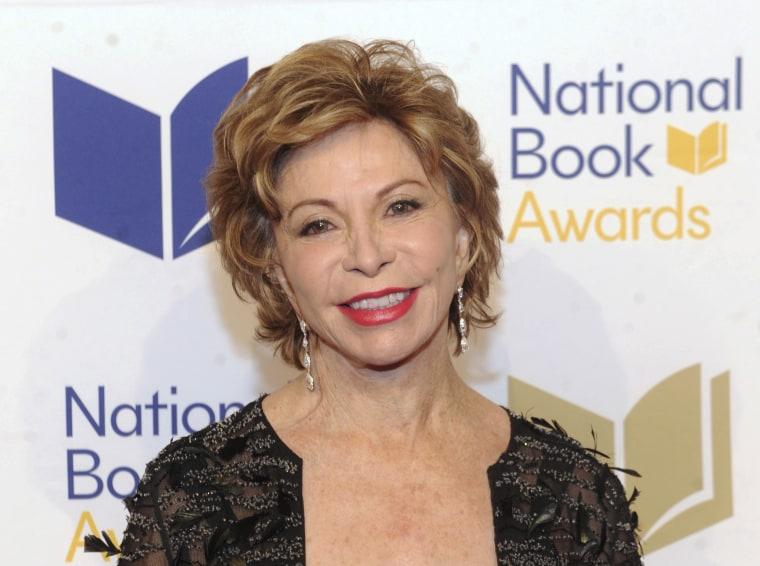 Image: Isabel Allende