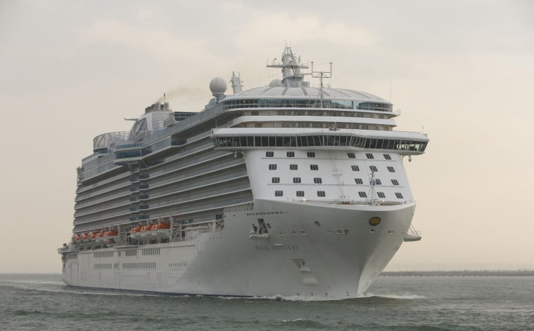 Royal Princess in Southampton