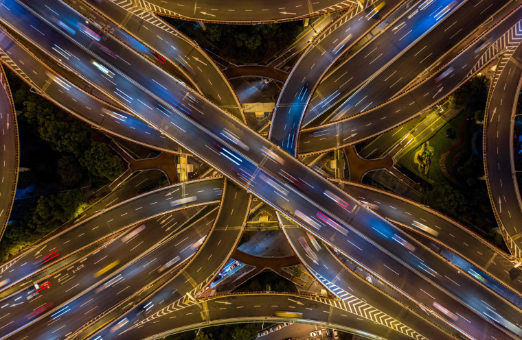 Image: TOPSHOT-CHINA-ECONOMY-TRAFFIC