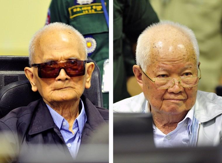 Image: Nuon Chea and Khieu Samphan