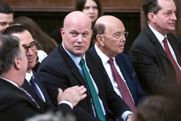 Matt Whitaker faces new challenge in Supreme Court