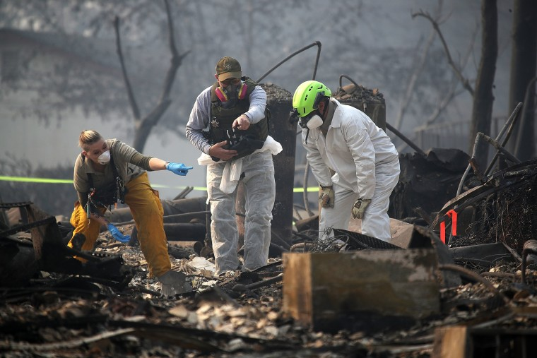 Image: California Town Of Paradise Devastated By The Camp Fire Continues Search And Recovery Efforts