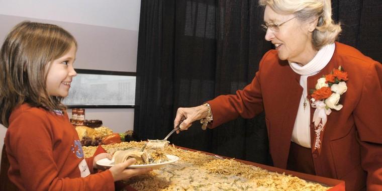 Dorcas Reilly, Green Bean casserole
