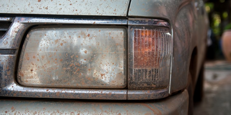 Dirty headlights, how to clean headlights