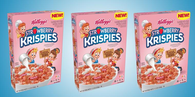Strawberry Krispies