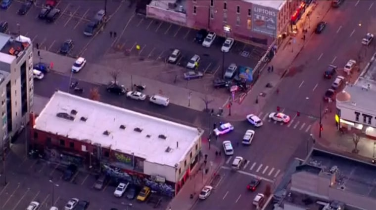 Image: Denver Police respond to shooting in downtown, Denver