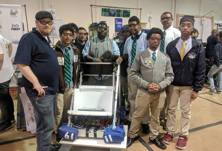 Houston Robotics Team Pushes Past Financial Woes To Address Stem Gap