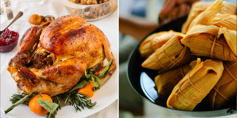 With more than 57 million Hispanics calling the United States their home, traditions and customs from all over Latin America are bound to be soaked up at the Thanksgiving table.