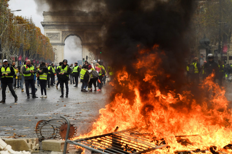 Image: France Protests
