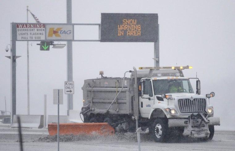 Image: Kansas Snow storm