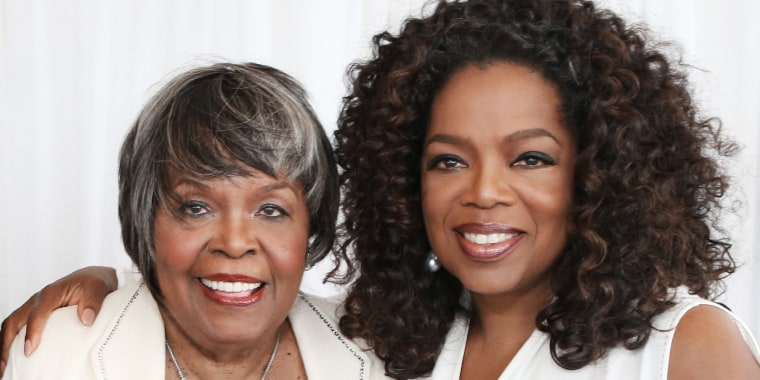 Oprah Winfrey opened up to People about her mother's passing.