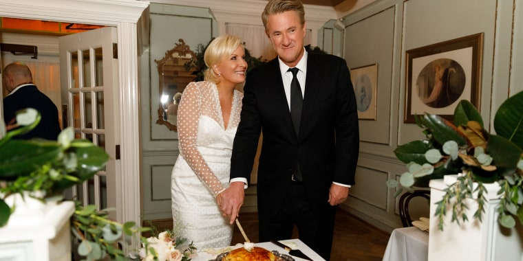 Joe Scarborough and Mika Brzezinski's wedding