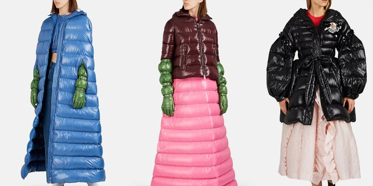 Down-Quilted Long Puffer Dress