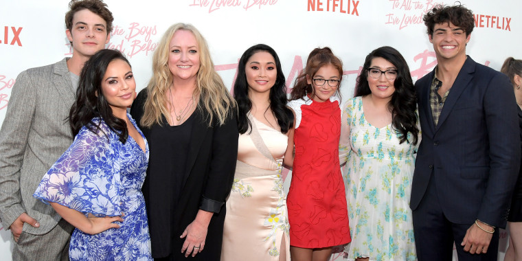 """To All the Boys I've Loved Before"" cast"