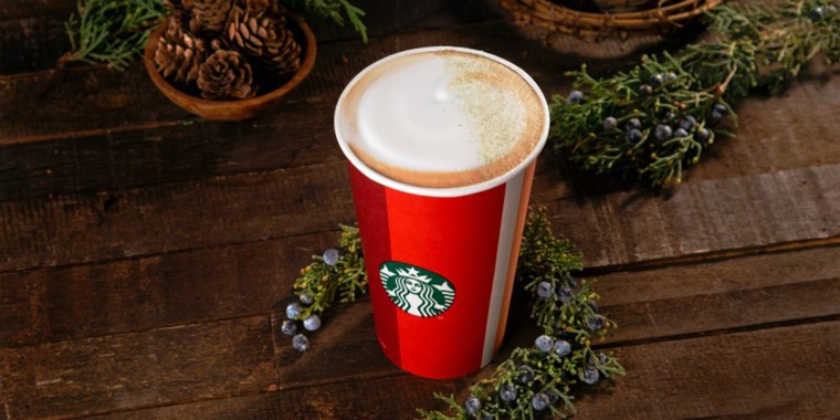 Starbucks' new juniper latte