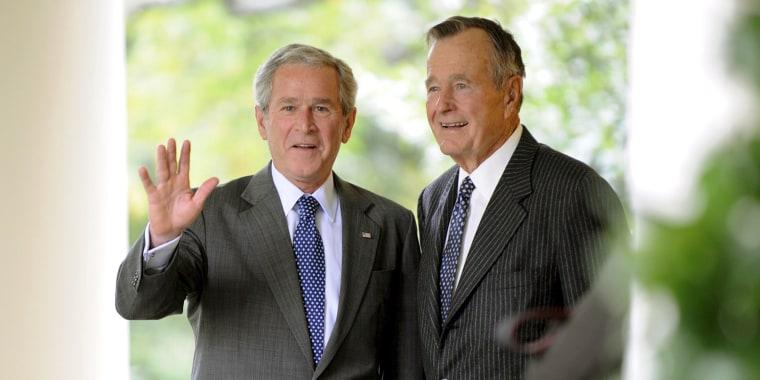 George W. Bush George H. W. Bush