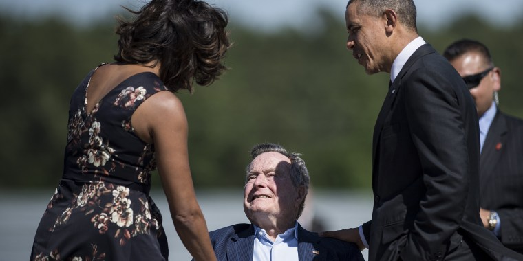 Michelle Obama George H. W. Bush