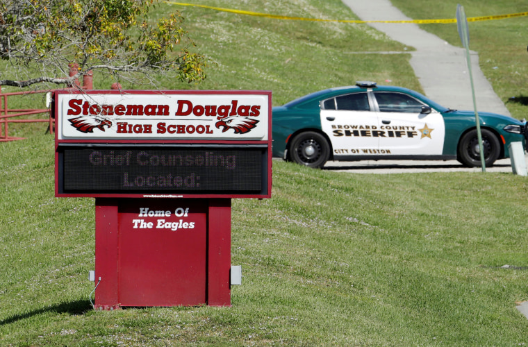 Image: Marjory Stoneman Douglas High School in Parkland