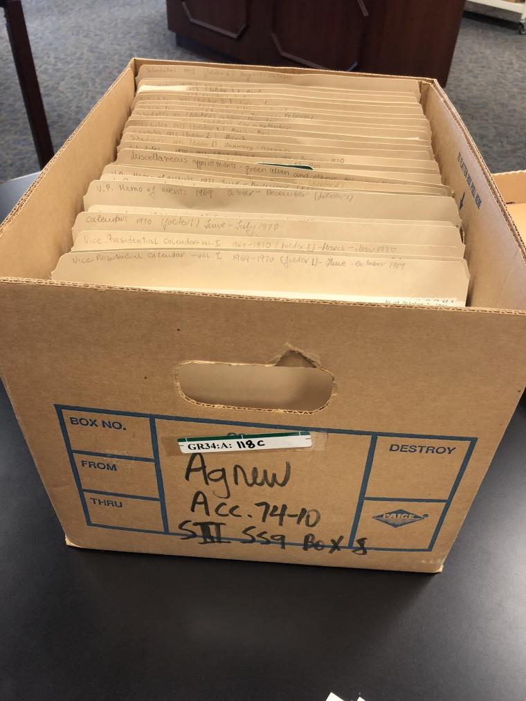 Agnew File Box 5