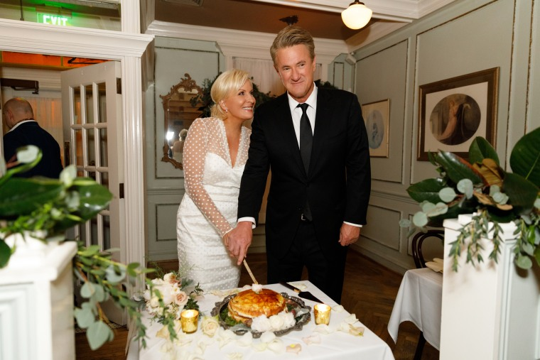 Joe Scarborough and Mika Brzezinski were married at the National Archives in Washington.