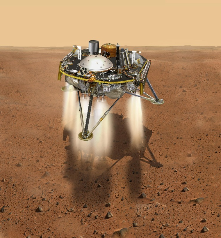 Image: US-SPACE-MARS-INSIGHT