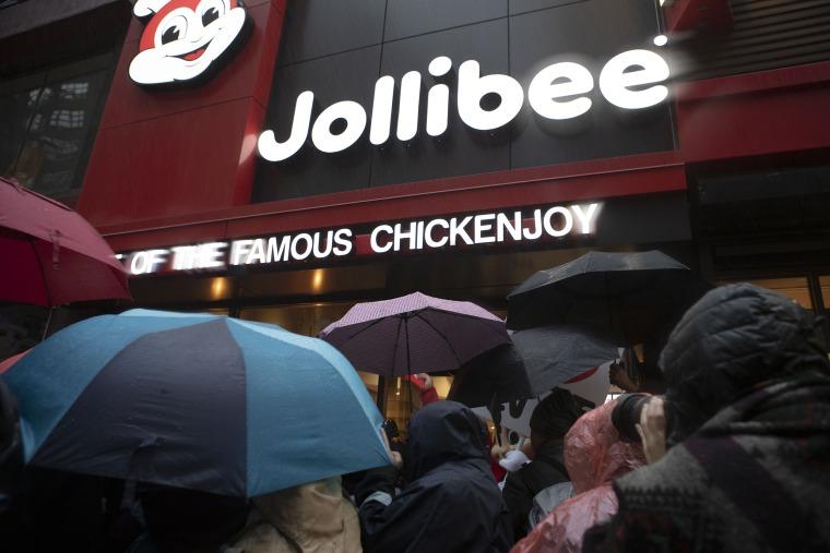Image: Jollibee restaurant, NYC
