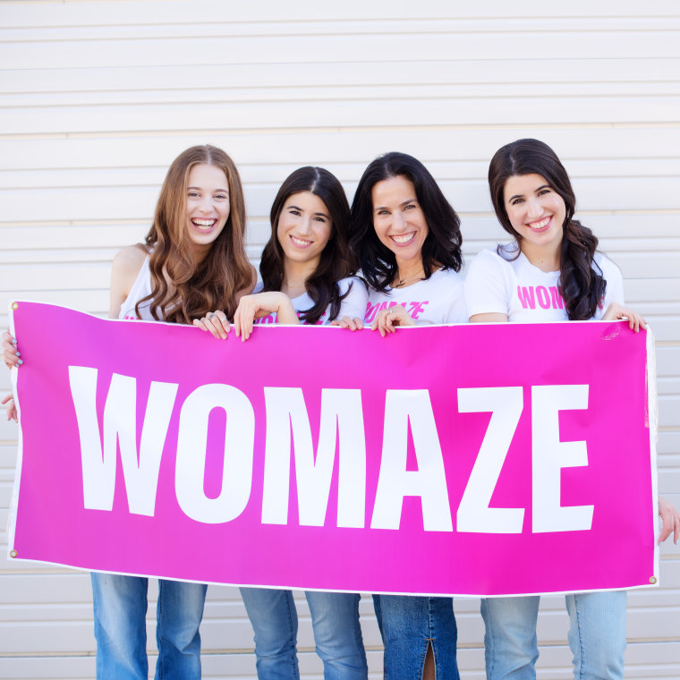 From left to right: Hannah Wiser, Leah Wiser, Corin Wiser, Becca Wiser