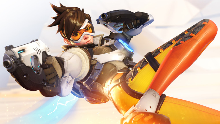 """Overwatch"" character Tracer"