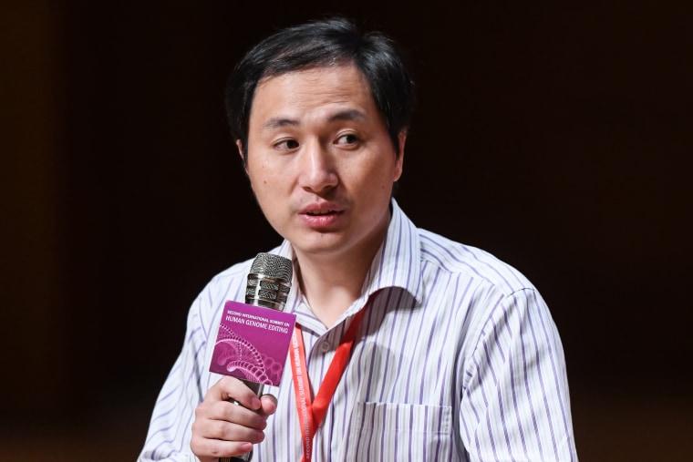 Chinese scientist He Jiankui