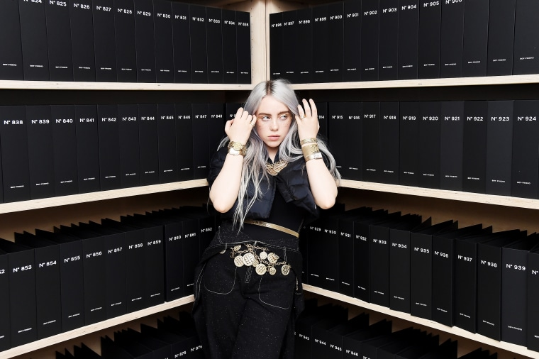 Billie Eilish at The Wing Soho on Nov. 10, 2017 in New York City, NY.