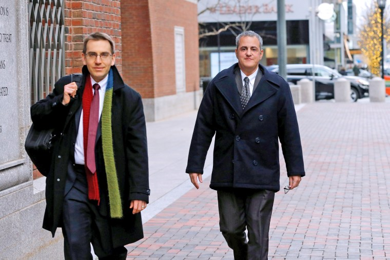 Image: Former Insys sales VP Burlakoff leaves federal court in Boston