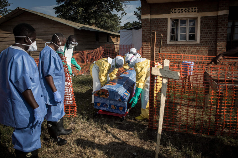 Image: DR CONGO-HEALTH-EBOLA-AFP PICTURES OF THE YEAR 2018