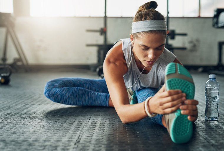 Turn your post-workout stretch routine into a meditation by simply focusing on your breathing while stretching.