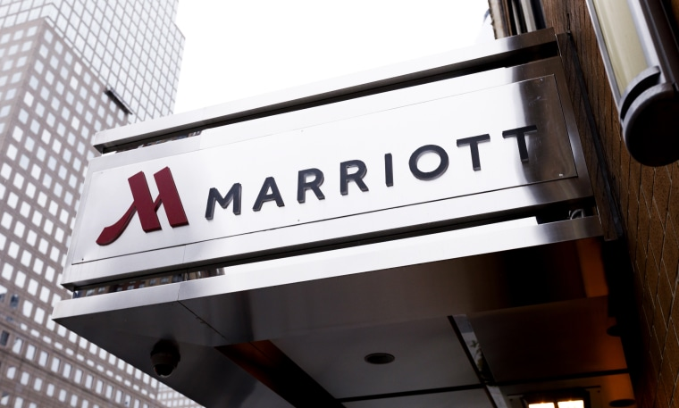 A Marriott hotel in New York on Nov. 30, 2018.