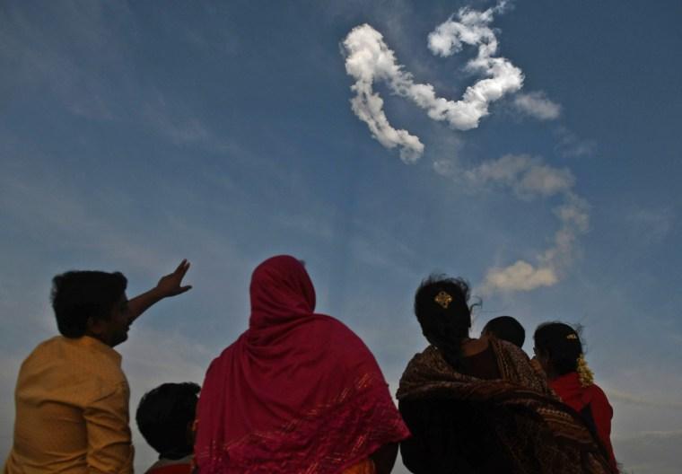 Image: INDIA-SPACE-SATELLITE