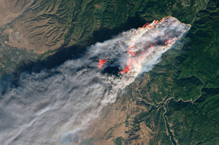 Image: Camp Fire in Northern California, the state's deadliest wildfire