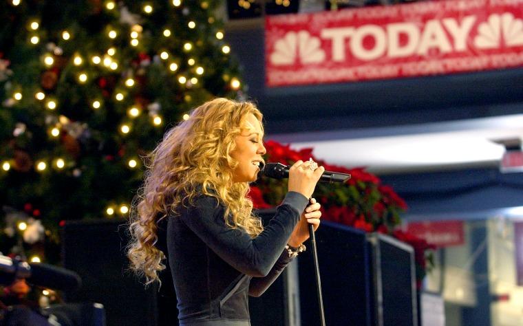 Mariah Carey Performs At Mall Of America