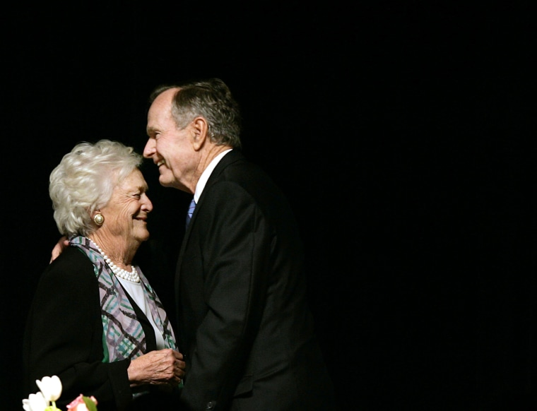Image: George H.W. Bush, Barbara Bush