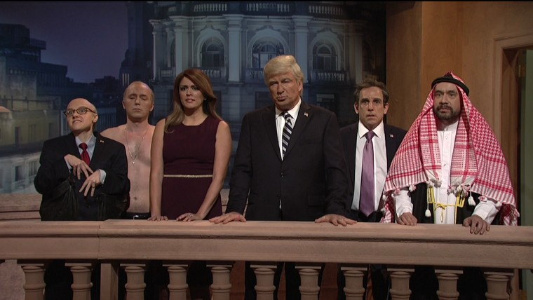 'SNL's cold open on December 1, 2018.