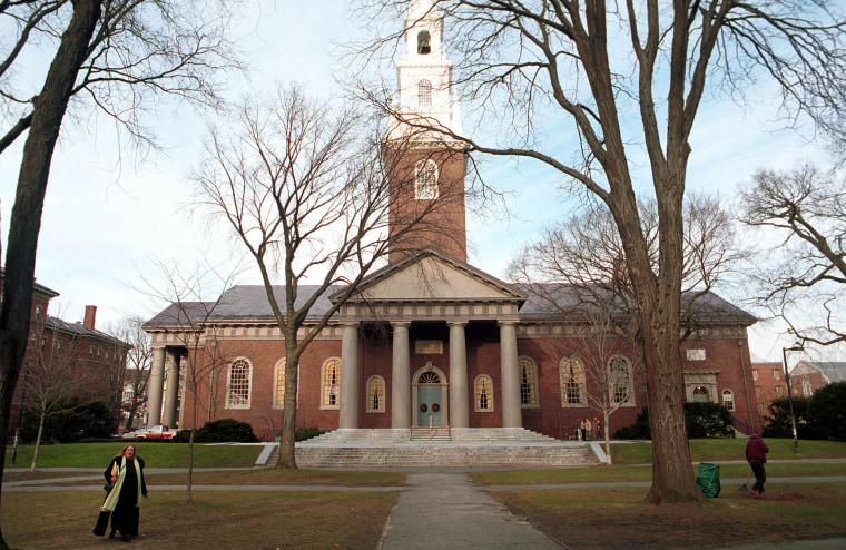 Image: Harvard University's campus