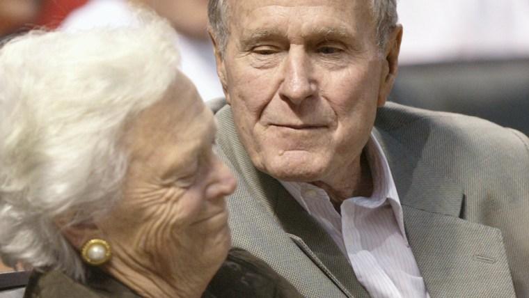 George H.W. Bush, Barbara Bush