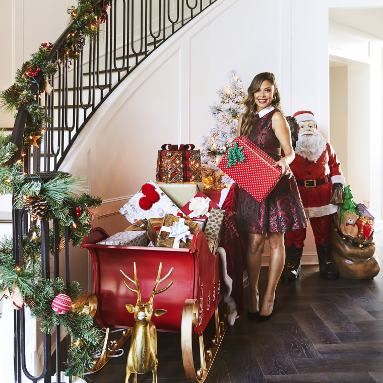 Vanessa Lachey HomeGoods Christmas Decor